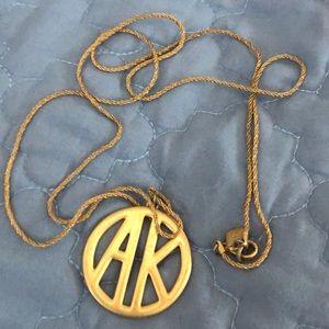 """Anne Klein Vintage necklace """"18.5"""" chain"""